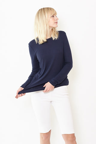 ATM Anthony Thomas Melillo Modal Rib Long Sleeve Tee