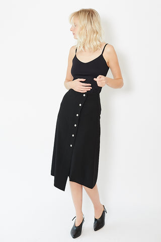 Áeron Button Slit Skirt