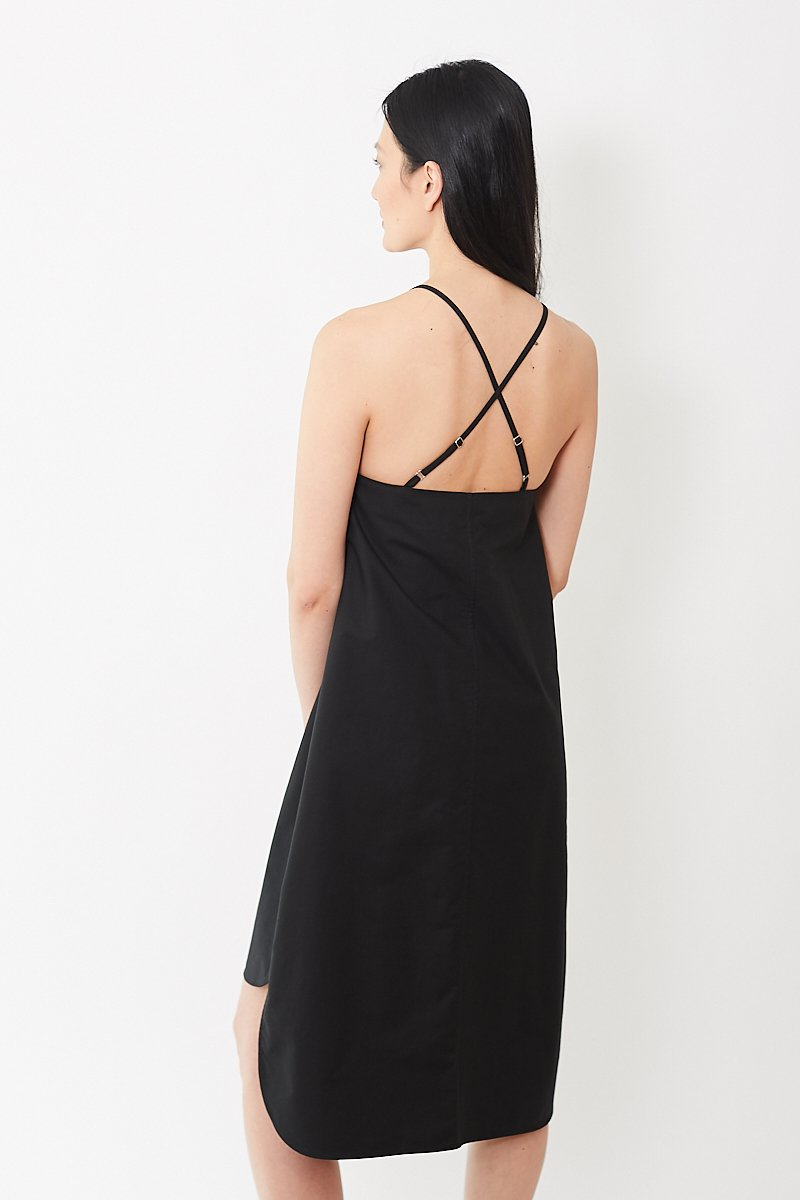Áeron Midi Slip Dress