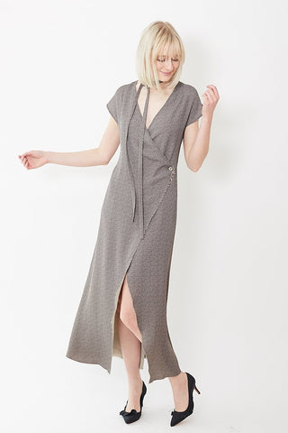 Áeron Wrap Midi Dress