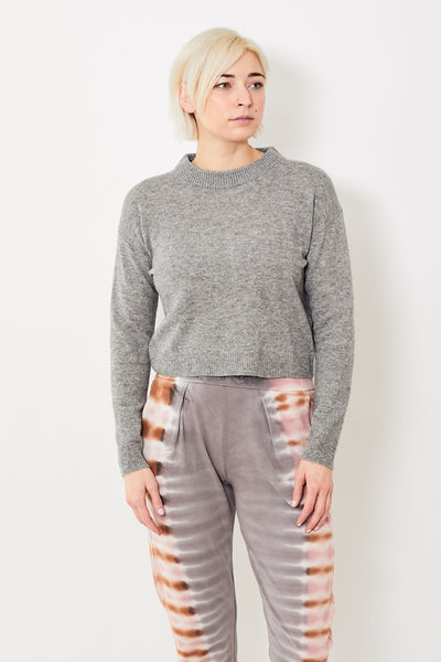 Allude Ribbed Neck Pullover