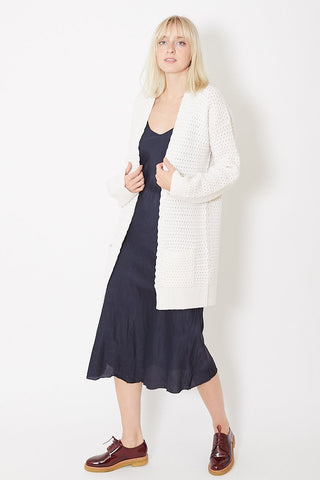 Allude Basket Weave Cardi