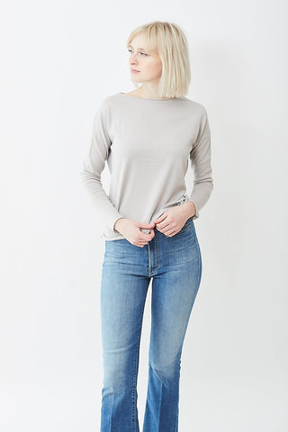 Allude Boat Neck Sweater