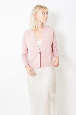Allude One Button Cardigan