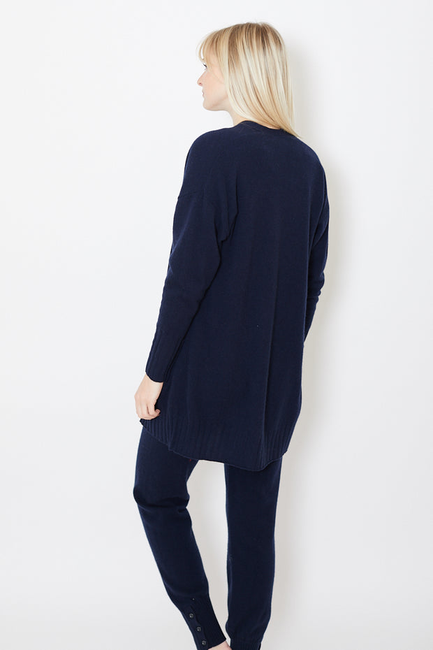 Allude Open Cardigan