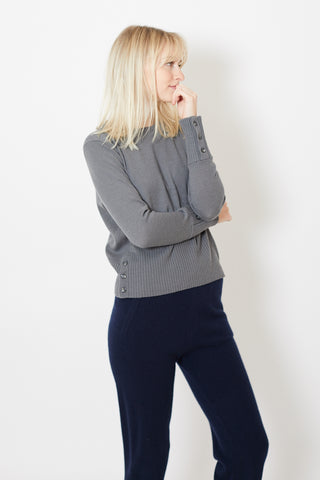 Allude Round Neck Sweater