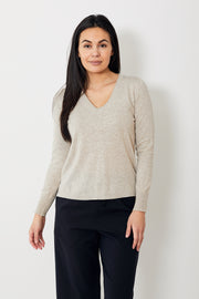 Allude V Neck Sweater