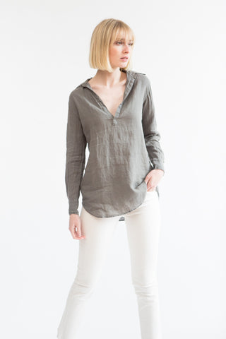 American Colors Linen Pullover