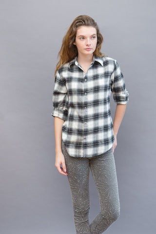 American Colors Open Neck Shirt - grethen house