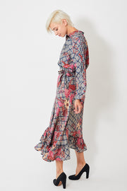 Apiece Apart Silk Feliz Wrap Skirt