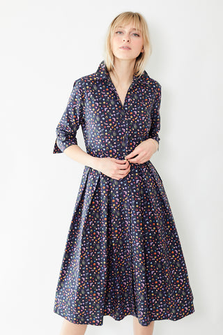 Bagutta Mini Flower Shirt Dress