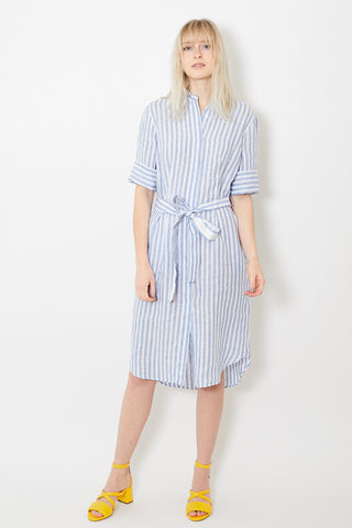 Bagutta Shirt Dress Wide Stripe