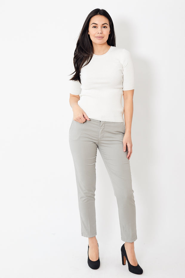 Berwich Mari Cotton Silk Washed Pant