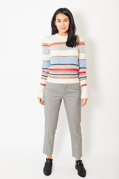 Berwich Mari Checked Ankle Pant