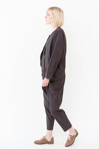 Black Crane Carpenter Pants