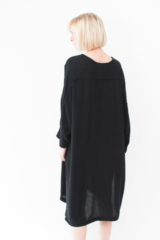 Black Crane Dome Dress