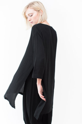 Black Crane Long Top