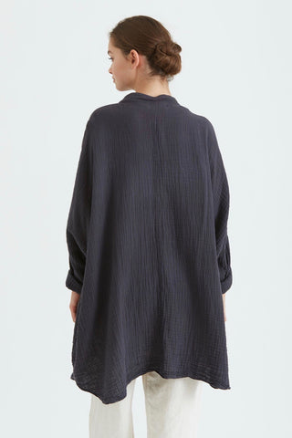 Black Crane Square Shirt
