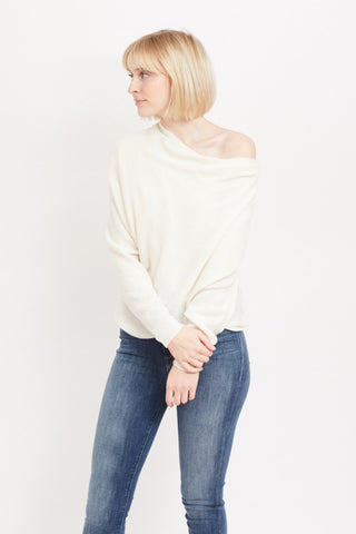 Brochu Walker Clea Off Shoulder Sweater