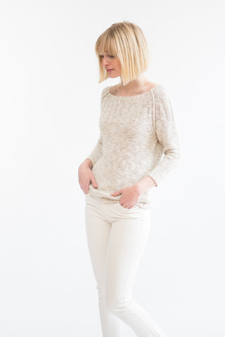 Brochu Walker Opal Off Shoulder Sweater