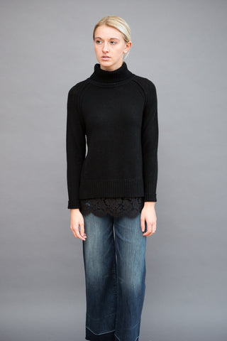 Brochu Walker Turtleneck Lace Looker