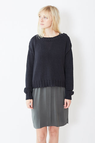Private Cotton/Cashmere Crew Neck Pullover