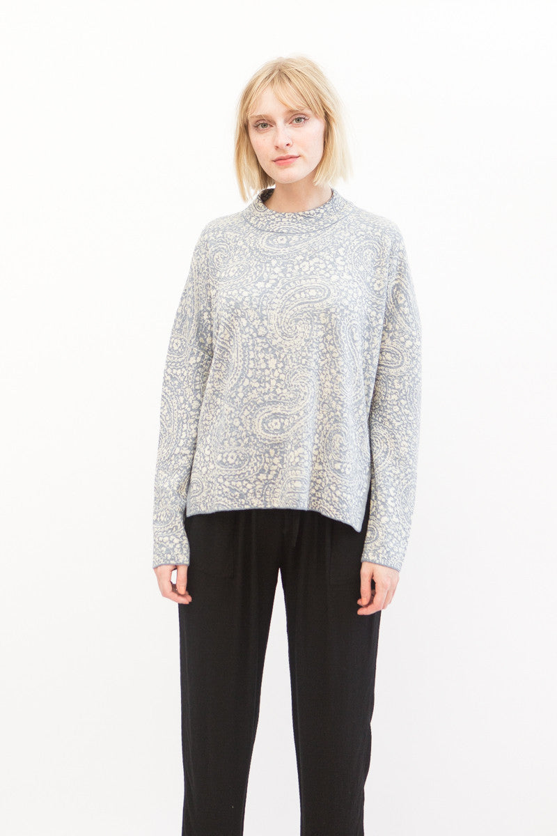 Christian Wijnants Kippi Mock Neck Sweater