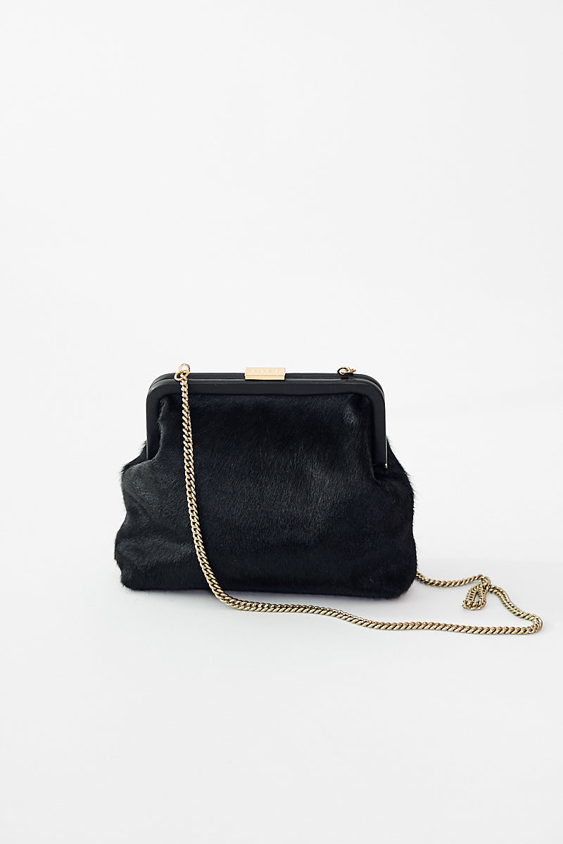 Clare V. Hair-On Flore Bag