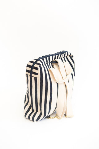 Clare V. Simon Canvas Backpack
