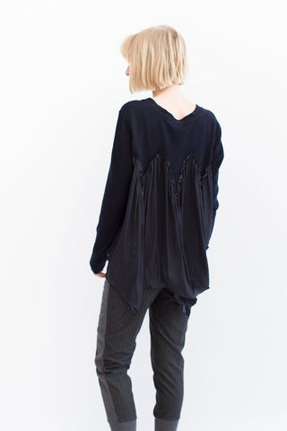 Clu Back Ruffled Cardigan
