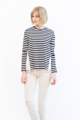 Clu Long Sleeve Striped Top
