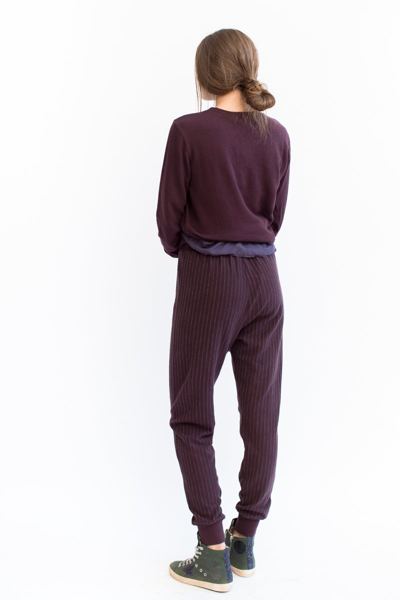 Clu Striped Jersey Lounge Pants