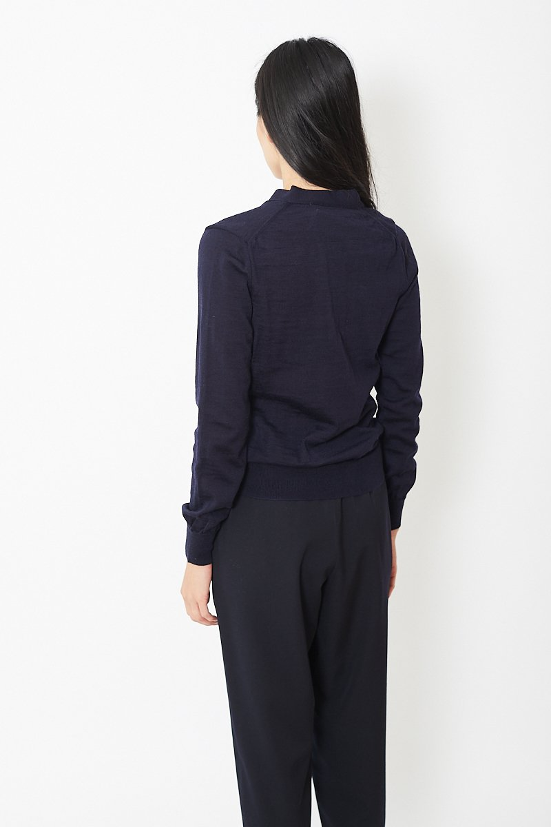 Comme des Garcons Gathered Waist Cardigan