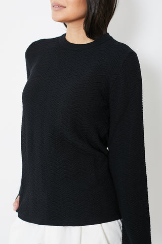 Comme des Garçons SHIRT Fully Fashioned Knit Striped Crew