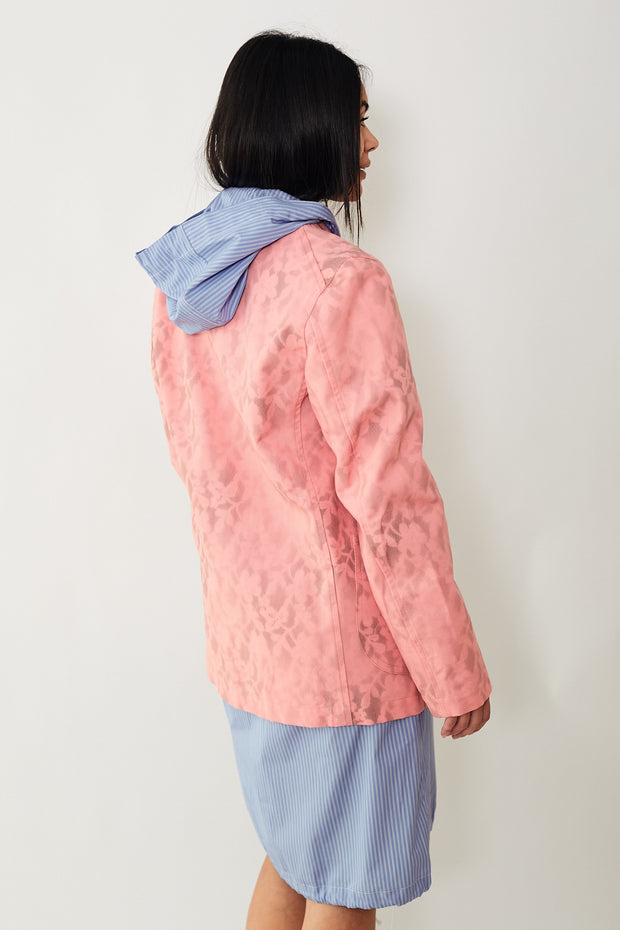 Comme des Garcons Stencil Print Cotton Denim Jacket