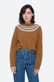 Sea NY Brie Fair Isle Sweater