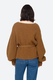 Sea NY Nellie Classic Sweater with Voluminous Sleeves