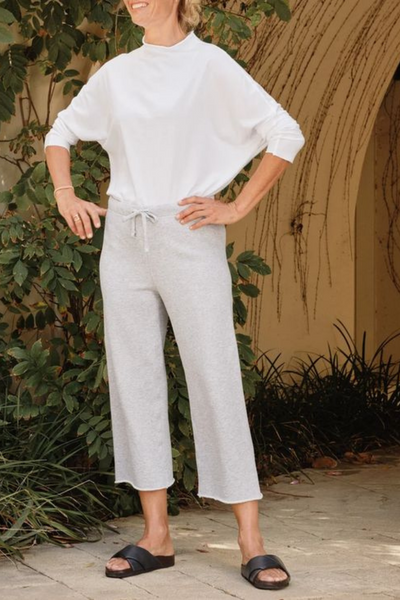 Frank & Eileen Tee Lab Cropped Wide Leg Sweatpant