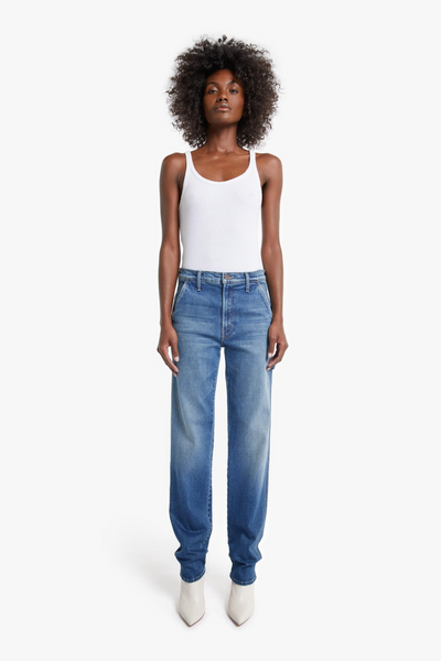 Mother Denim The High Waisted Utility