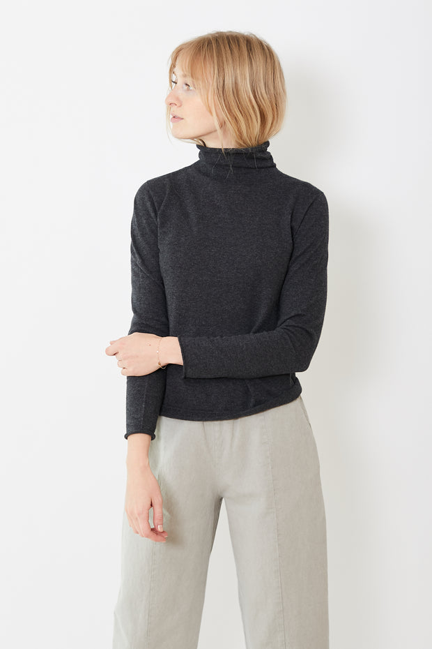 Evam Eva Cotton Cashmere Turtleneck