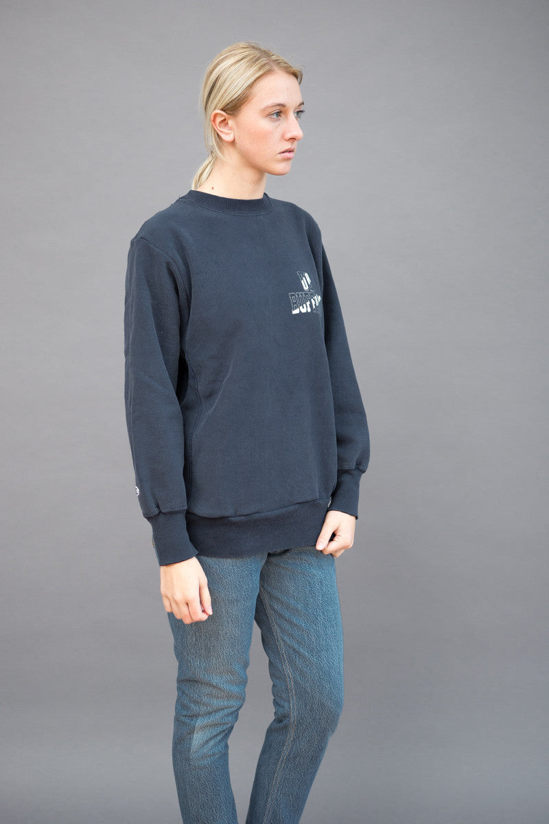 RE/DONE Oversize Graphic Sweatshirt