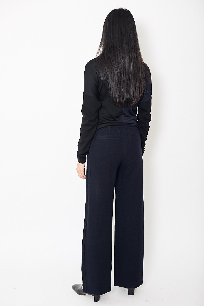 Démoo Wool Jersey Wide Pants