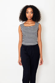 DemyLee Kiana Stripe Top