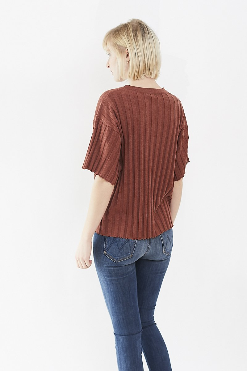 DemyLee Perce Boxy Sweater