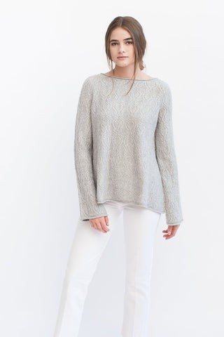 DemyLee Rosco Sweater with Cable Texture