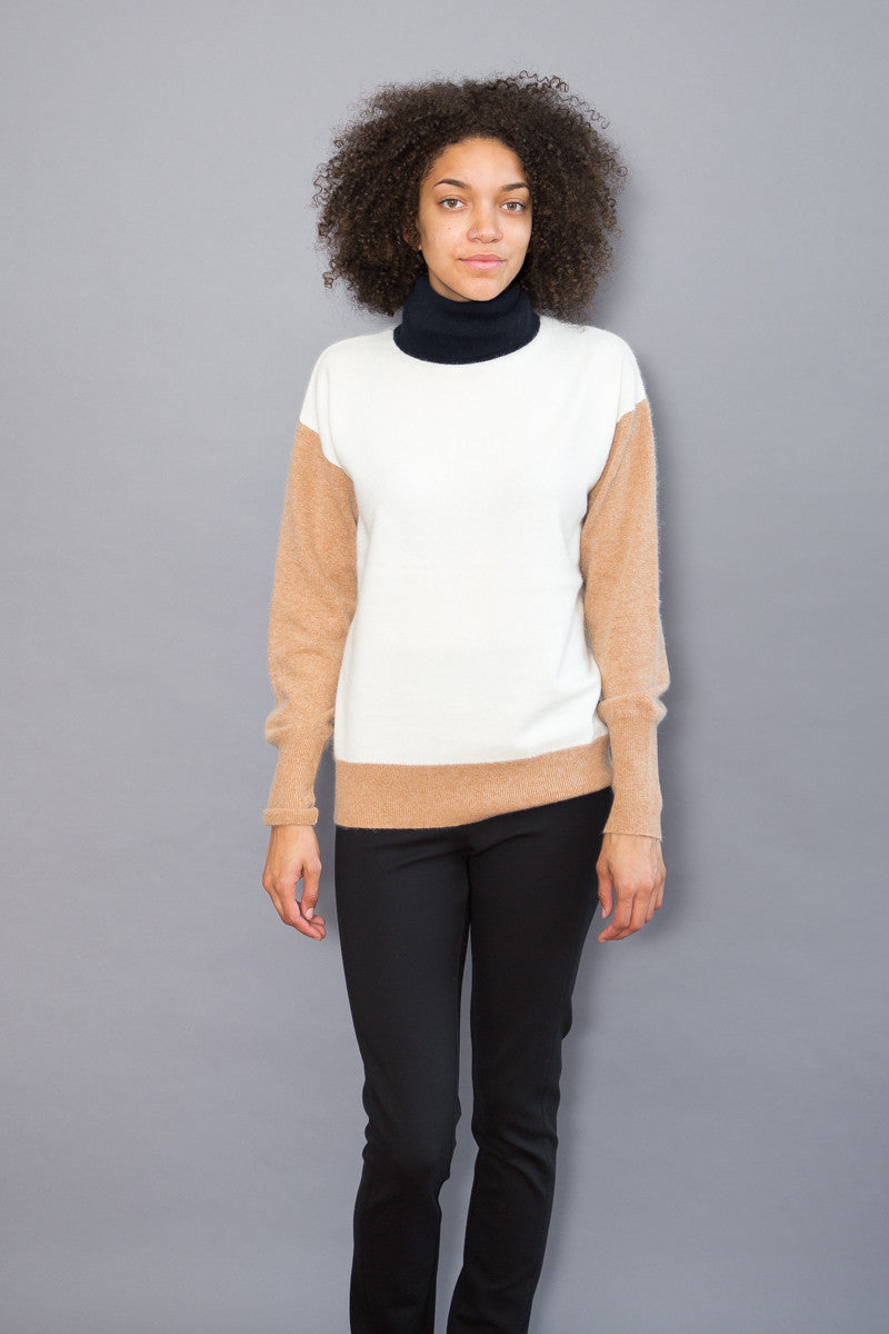 DemyLee Turtleneck With Contrast Neck - grethen house