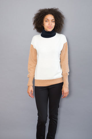 DemyLee Turtleneck With Contrast Neck