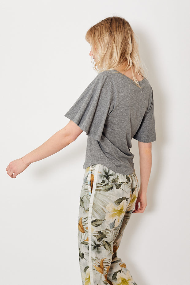 Demylee Sellina Top Heather Grey