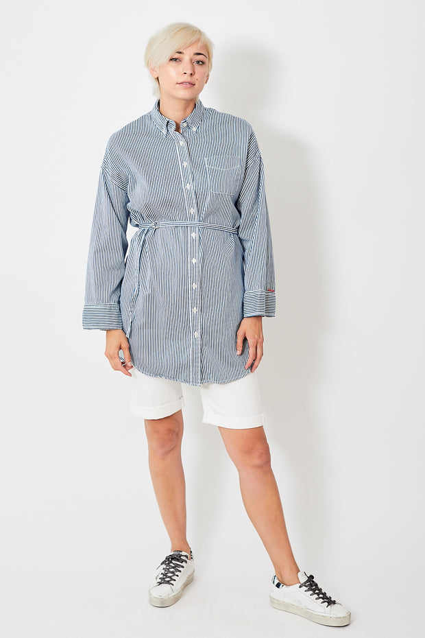 Denimist Belted Shirtdress