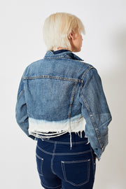 Denimist Cropped Agnes Trucker